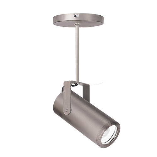 Silo Brushed Nickel 3-Inch 2700K LED Monopoint with 24-Inch Extension