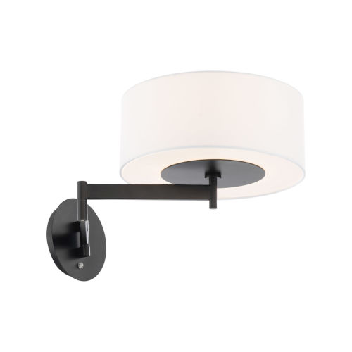 Chelsea Black LED Swing Arm Wall Light