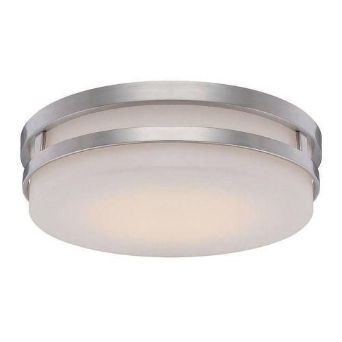 Vie Chrome 14-Inch 3500K LED Flush Mount