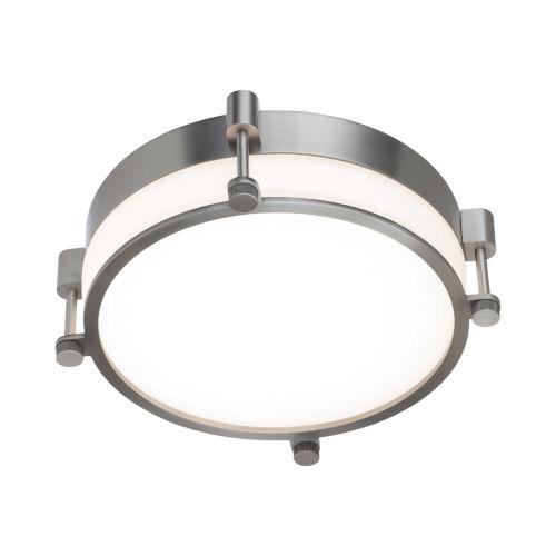 Wright Brushed Nickel 14-Inch LED Flush Mount
