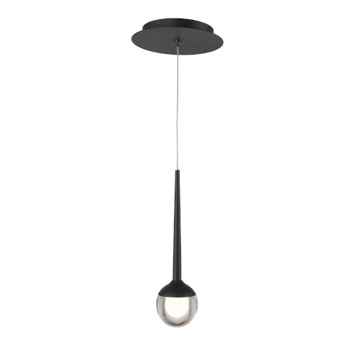 Smash Black Three-Inch LED Mini Pendant