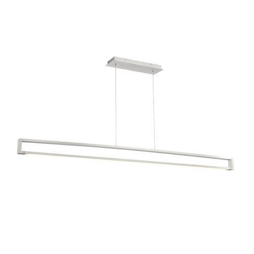 Lune Aluminum LED Linear Pendant