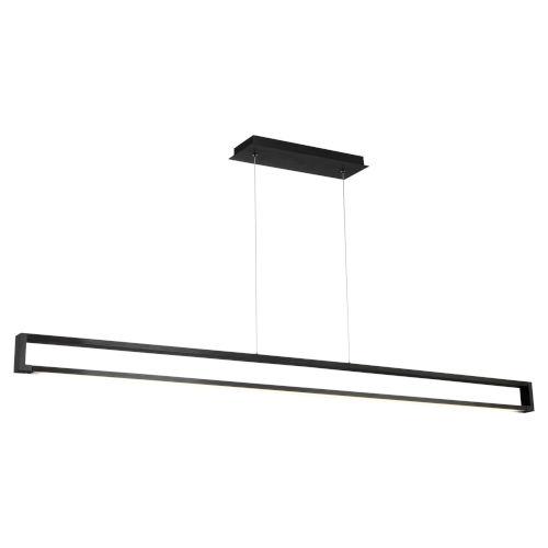 Lune Black LED Linear Linear Pendant