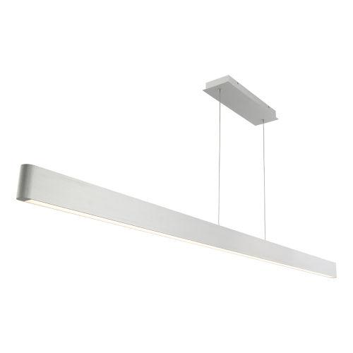Volo Brushed Aluminum 75-Inch LED Linear Pendant