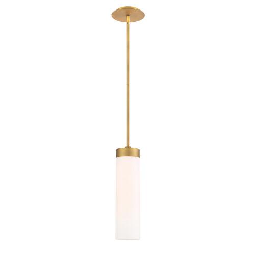 Elementum Aged Brass Five-Inch 3000K LED Mini Pendant