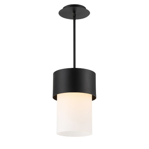 Napa Black Nine-Inch LED Mini Pendant