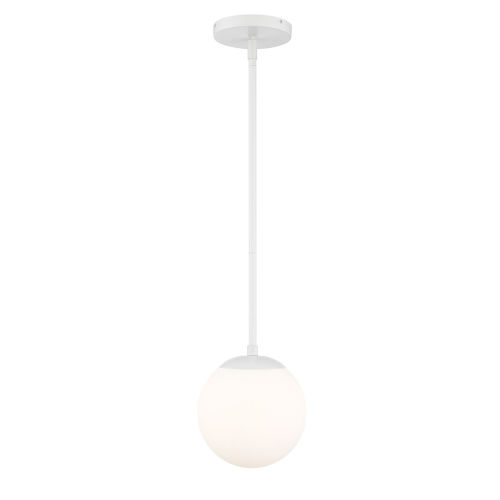Niveous White Seven-Inch 3000K LED Mini Pendant