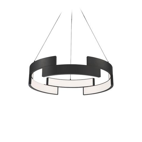 Trap Black 27-Inch LED Pendant