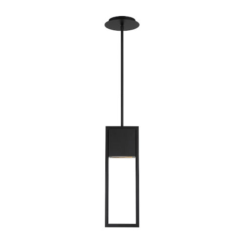 Archetype Black Four-Inch LED Outdoor Mini Pendant