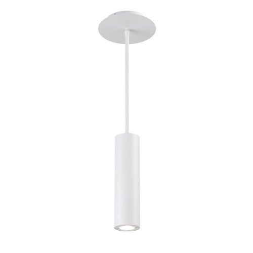 Caliber White Three-Inch LED Outdoor Mini Pendant