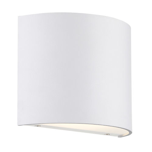 Pocket White Three-Inch LED Wall Sconce