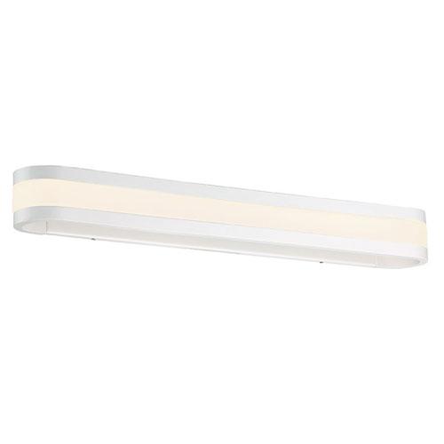 Endure White 27-Inch LED Bath Vanity