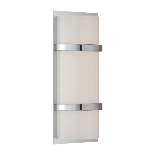 Vie Chrome Three-Inch 3000K LED Wall Sconce