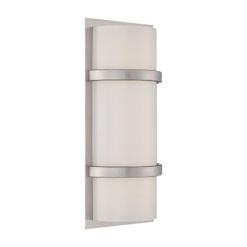 Vie Brushed Nickel Three-Inch 3500K LED Wall Sconce