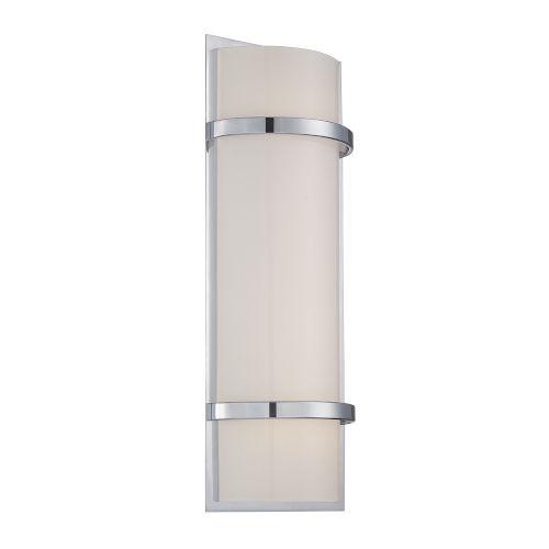 Vie Chrome Three-Inch LED Bath Vanity