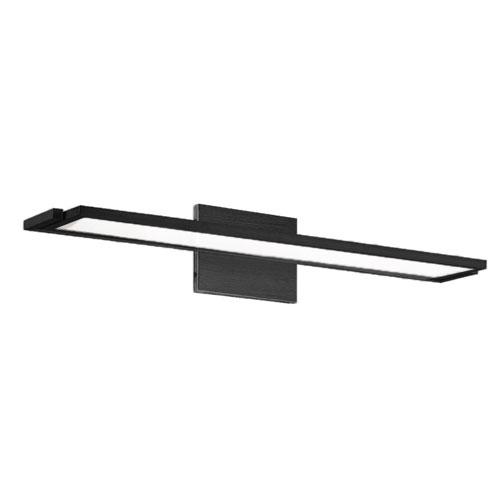 Line Black 24-Inch LED Bath Vanity