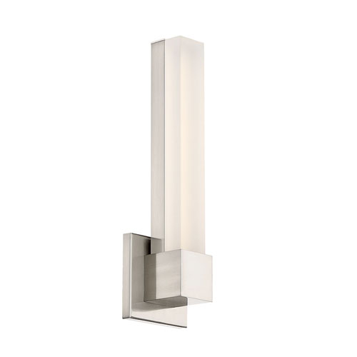 Esprit Brushed Nickel 15-Inch LED Wall Sconce