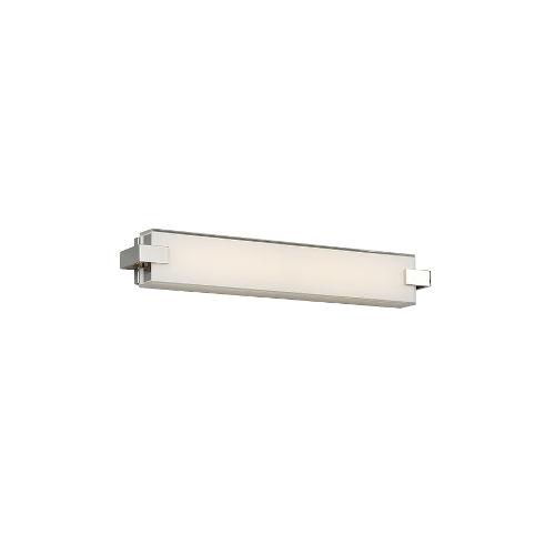Bliss Polished Nickel LED Bath Vanity