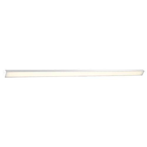 Revel Brushed Aluminum 98-Inch 3000K LED Bath Bar Light