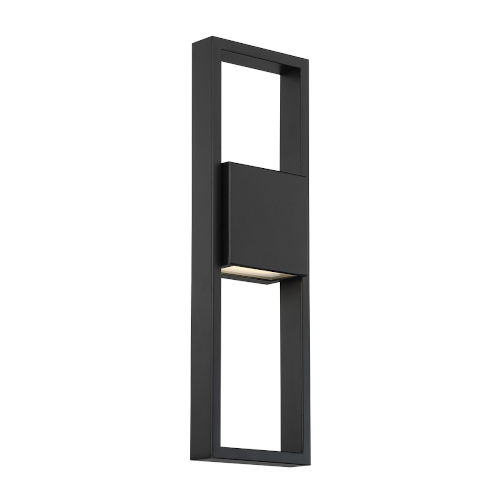 Archetype Black 18-Inch 3000K Centered LED Outdoor Wall Sconce