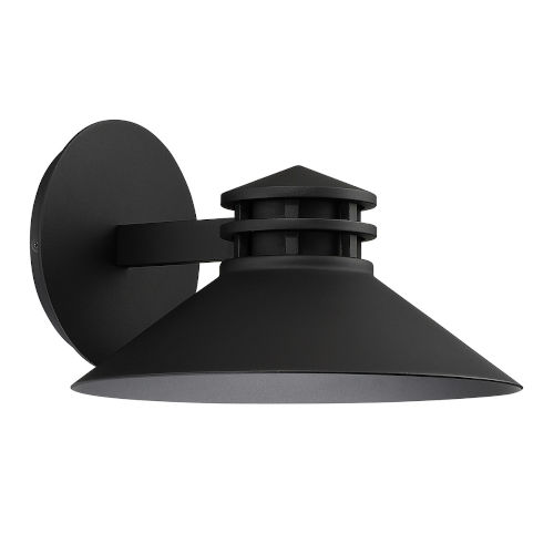 Sodor Black 11-Inch LED Outdoor Wall Sconce