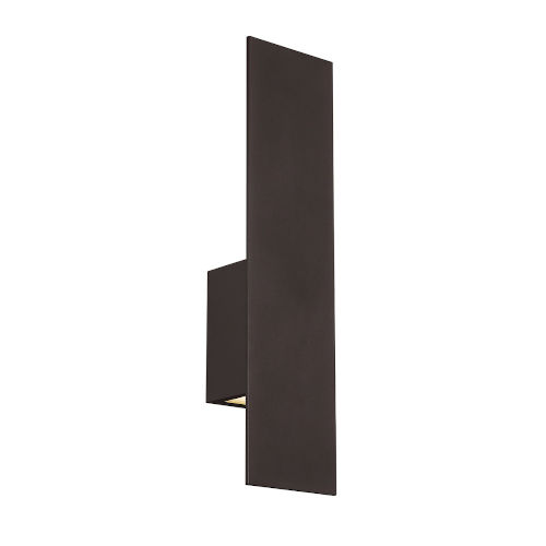 Icon Bronze Three-Inch Two-Light LED Outdoor Wall Sconce