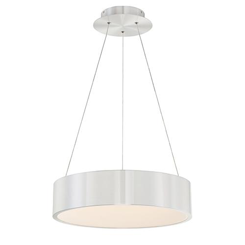 Corso Brushed Aluminum 18-Inch LED Pendant