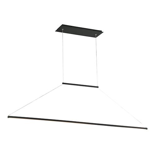 E=MC2 Black 47-Inch LED Pendant