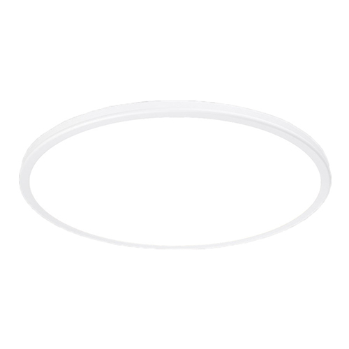 Geos White 22-Inch 3000K LED Flush Mount