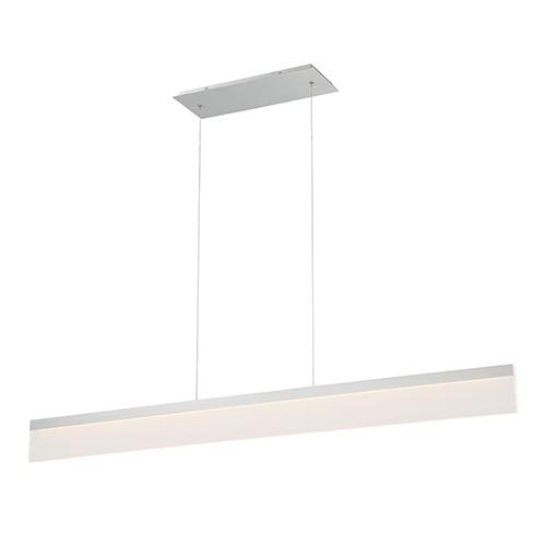 dweLED Level Brushed Aluminum 48-Inch LED Pendant
