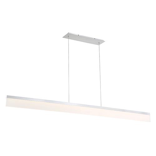 Level Brushed Aluminum 65-Inch LED Pendant