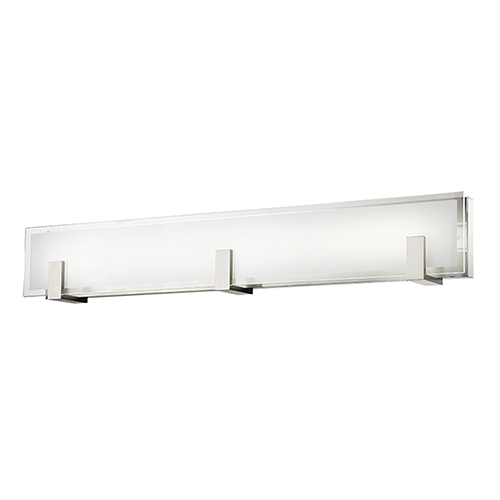 dweLED Meridien Brushed Nickel 37-Inch LED Bath and Wall Light
