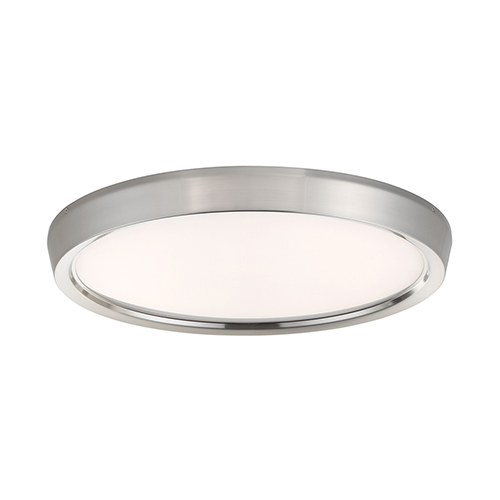 Planets Brushed Nickel 22-Inch LED Flush Mount