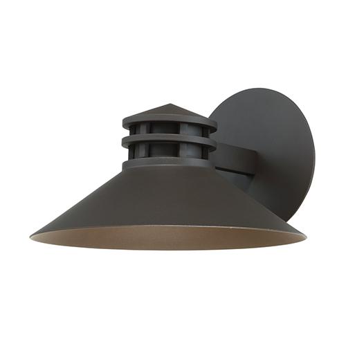 Sodor Bronze 10-Inch LED Outdoor Wall Light