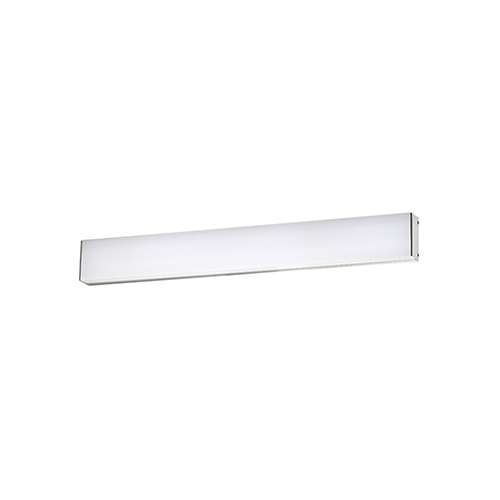 Strip Brushed Aluminum 24-Inch 3500K LED Bath and Wall Light