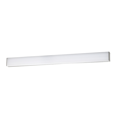 Strip Brushed Aluminum 36-Inch 3500K LED Bath and Wall Light