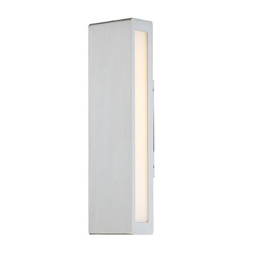 Verve Brushed Aluminum 14-Inch LED Outdoor Wall Light