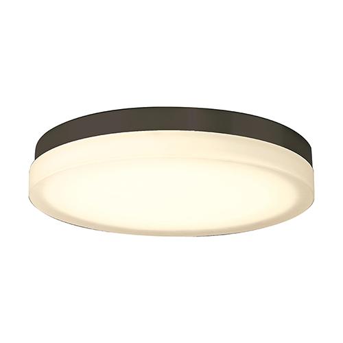 Slice Bronze 15-Inch LED Flush Mount with 2700K Warm White