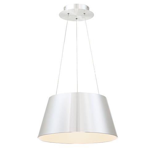 Vida Brushed Aluminum Modern LED Pendant