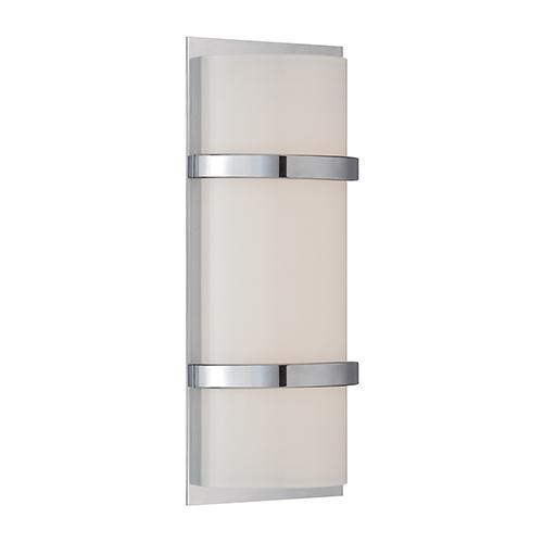 dweLED Vie Chrome 14-Inch LED Wall Sconce
