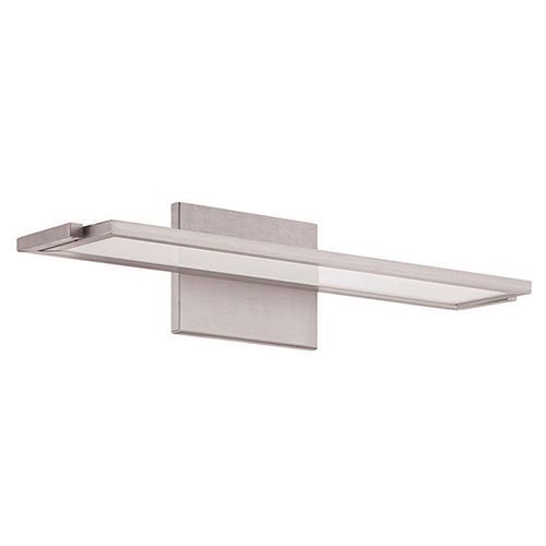 Line Brushed Aluminum 18-Inch LED Bath Light with 2700K Warm White