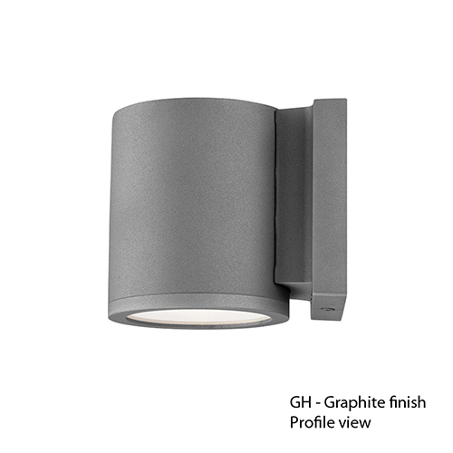 LED Outdoor Graphite Outdoor Wall Sconce