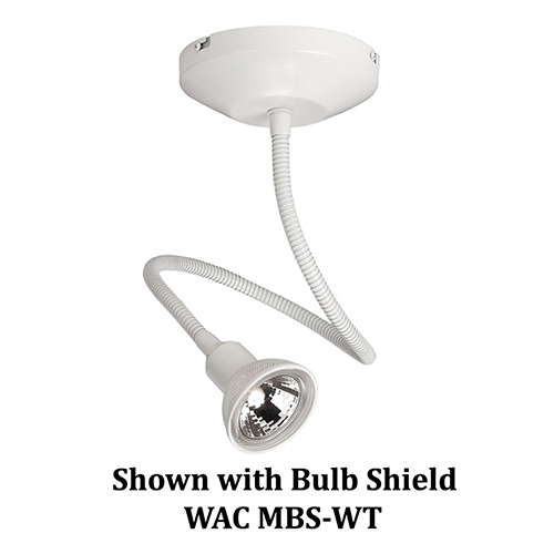 WAC Lighting Low Voltage White Display Spot Light