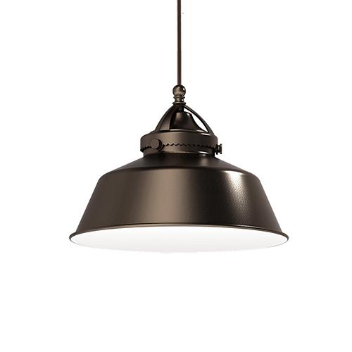 WAC Lighting Wyandotte Dark Bronze Led Pendant with Canopy Mount Fixture