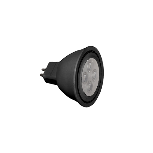 Replacement Black LED Lamp for MR16