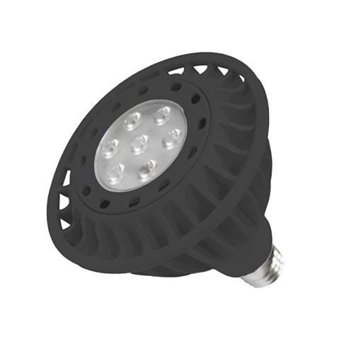 Black LED Series Dimmable PAR38 Lamp