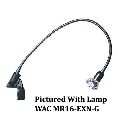 WAC Lighting Low Voltage Black 2-Inch Display Spot Light