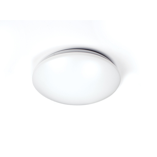 Glo White 14-Inch 3500K LED ADA Flush Mount