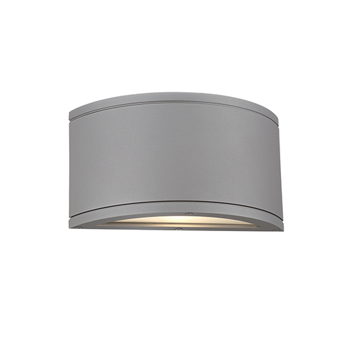 Tube Graphite One-Light LED Outdoor Wall Sconce