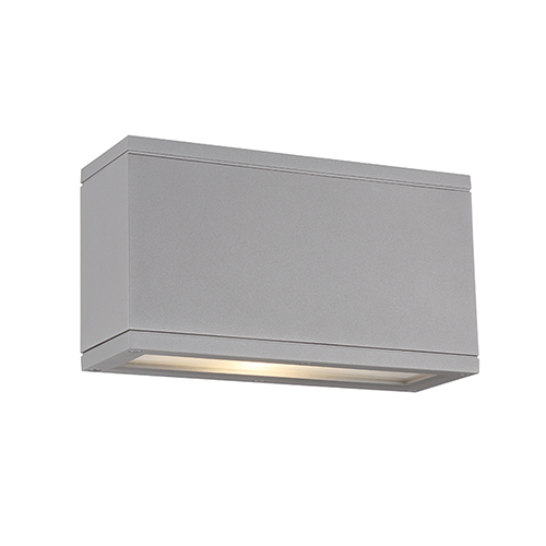 Rubix Graphite Up and Down Light LED Outdoor Wall Sconce
